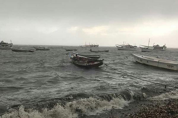 Prohiben vuelos y zarpe de embarcaciones por tormenta Bret en Nueva Esparta | Foto: @alcaldiamarino