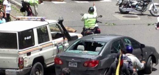 El condutor pretendía darse a la fuga |Foto: @Wolfjostin