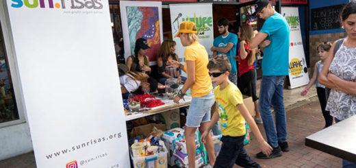 Venezolanos recaudan en Miami insumos para el país | Foto: EFE