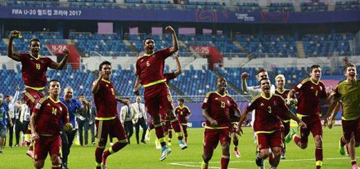 La Vinotinto se metió en la final del Mundial Sub-20 tras vencer a Uruguay | Foto: Twitter