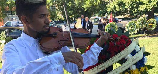 Wuilly Arteaga participó en homenaje a las víctimas del comunismo en EEUU | Foto: Cortesía