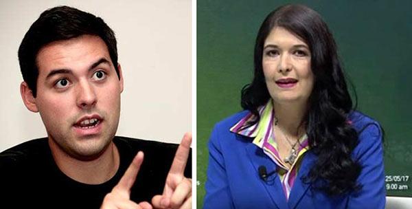 Maripili Hernández aboga por liberación de Yon Goicochea  Composición: Notitotal