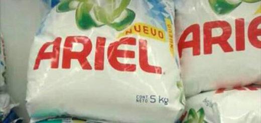 Detergente Ariel | Foto: @alereportando