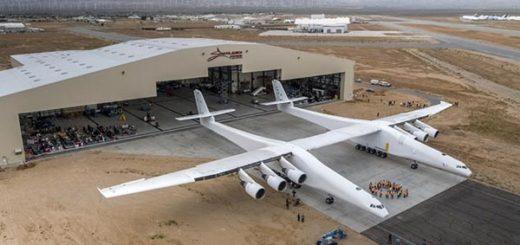 El avión Stratolaunch | Foto: spacenews
