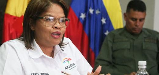 Caryl Bertho, Gobernadora del estado Aragua | Foto: Cortesía