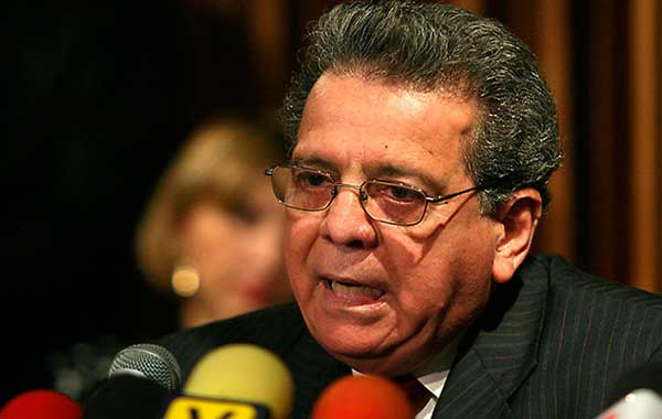 Embajador de Venezuela en Italia, Isaías Rodríguez   Foto: Cortesía