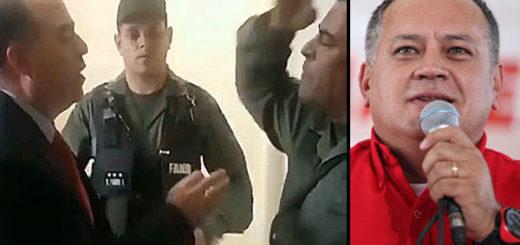 Diosdado Cabello aplaudió actuación del Coronel Lugo   Fotomontaje Notitotal