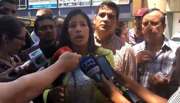 Daniela Zambrano, periodista de NTN24   Foto: Captura de video