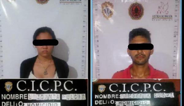 Humberto y Lizbania, padres del pequeño detenidos por caso de violación
