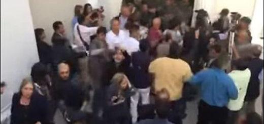 Diputadas agredidas en la Asamblea Nacional | Foto: Captura de video