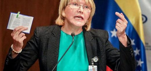 Fiscal General, Luisa Ortega Díaz | Foto: AFP