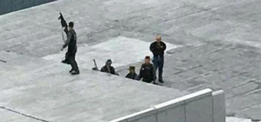 Francotiradores en Los Ruices | Foto: Twitter
