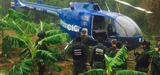 Helicóptero del CICPC | Foto:  Twitter