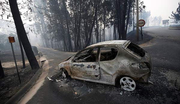 Incendio forestal en Portugal | Foto: Reuters
