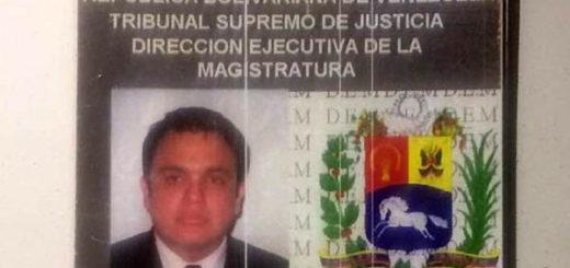 Juez Nelson Moncada | Foto: Globovisión