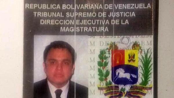 Juez Nelson Moncada   Foto: Globovisión
