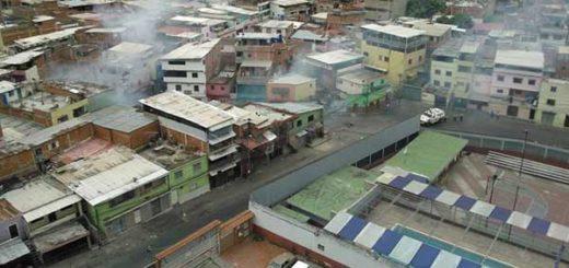 Represión en la Vega | Foto: Twitter