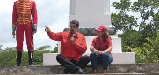 Nicolás Maduro en el Campo de Carabobo | Foto: Foto: @PresidencialVen