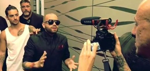 Maluma y Nacho | Foto: captura de video