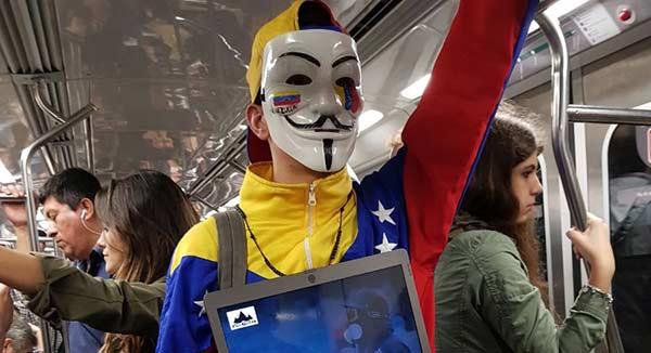 Protesta en Metro de Buenos Aires | Foto: