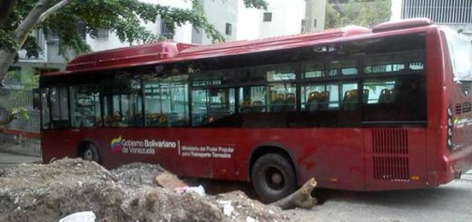 Metrobús   Foto: @RichSandoval