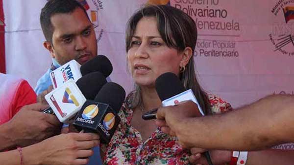 Mirelys Contreras, Nueva Ministra de Servicios Penitenciario | Foto: Cortesía