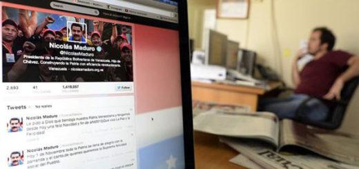 "Maduro denunció que Twitter cerró ""miles de cuentas"" de chavistas | JUAN BARRETO/AFP"