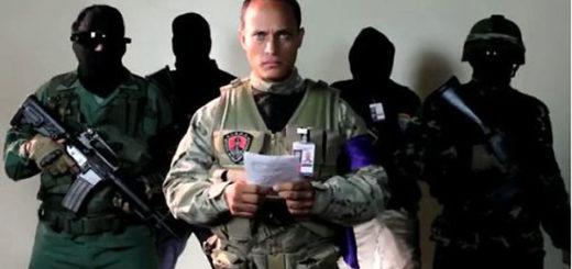 Oscar Pérez, funcionario del BAES | Foto: Captura de video