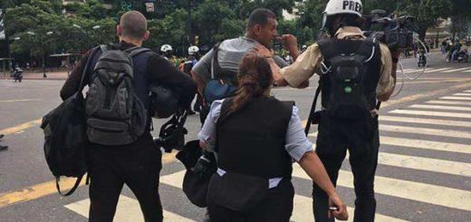 Periodistas de TV Venezuela | Foto: @amandasanchezc