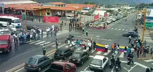 Protesta en Pie de Llano, Mérida | Foto: Archivo