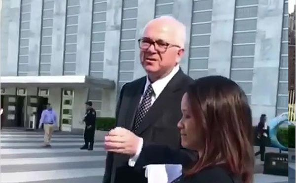 Rafael Ramírez en la ONU | Foto: Captura de video