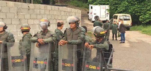 GNB impide paso a Tintori hacia Ramo Verde   Foto: @liliantintori