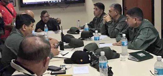 Reverol en reunión con los cuerpos de seguridad del estado Lara | @NestorReverol