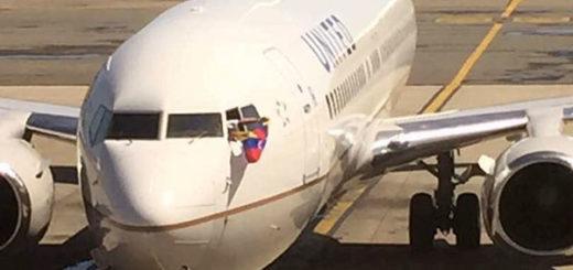 Aerolínea United se despide de Venezuela