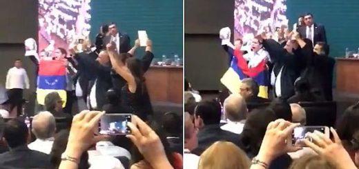 Delegación venezolana en la OEA | Foto: captura de video