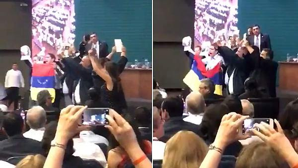 Delegación venezolana en la OEA   Foto: captura de video