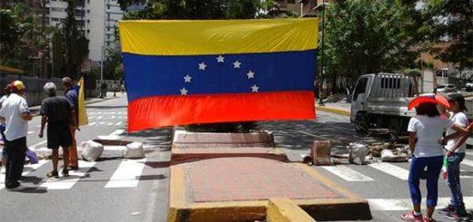 EN FOTOS: Así se registra el trancazo espontáneo de este #18Jul en Caracas | Foto: La Patilla