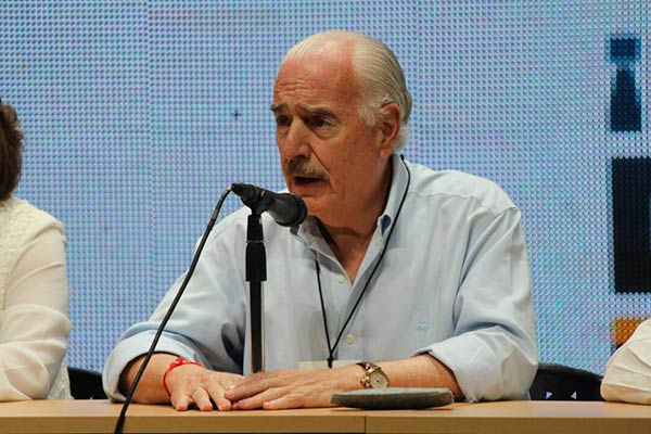 El expresidente Andrés Pastrana también fue observador de la Consulta  Foto: La Patilla