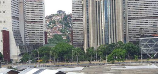 Así se encuentran las calles de Caracas ante llamado a paro #20Jul   Foto: Vía Twitter
