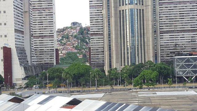 Así se encuentran las calles de Caracas ante llamado a paro #20Jul | Foto: Vía Twitter