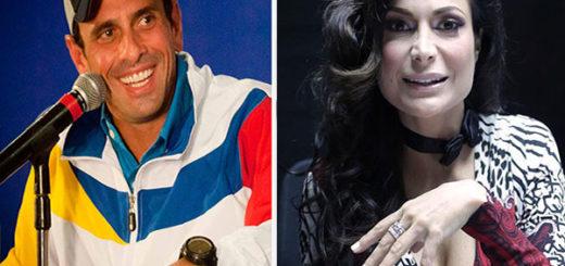 Caterina Valentino lo contó todo sobre su cercana relación con Capriles | Composición