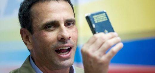 Henrique Capriles, Gobernador de Miranda |Foto:  EFE