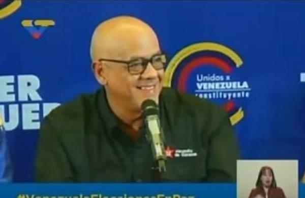 Jorge Rodríguez, alcalde del municipio Libertador |Captura de video