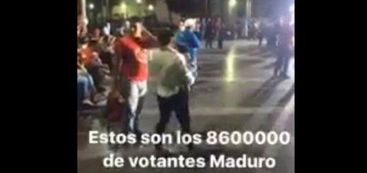 Celebración de la Constituyente en la Plaza Bolívar |Captura de video