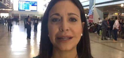 María Corina Machado, ex diputada de la AN |Captura de video