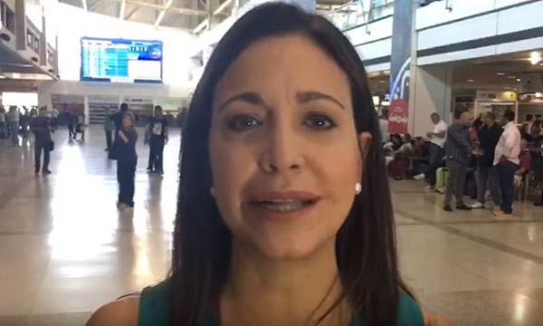 María Corina Machado, ex diputada de la AN |Captura de video