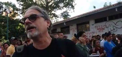 Paul Gillman cantante de heavy metal, simpatizante del Gobierno |Foto archivo