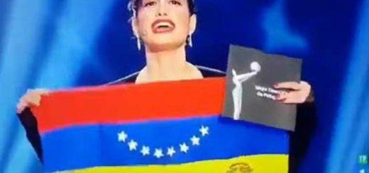 Actriz venezolana, Prakrit Maduro se pronunción sobre Venezuela |Captura de video