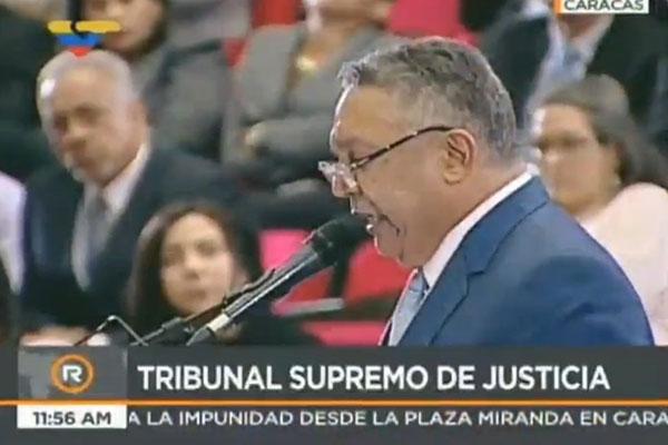 Pedro Carreño arremete contra la Fiscal General durante la audiencia de antejuicio de mérito | Captura de video