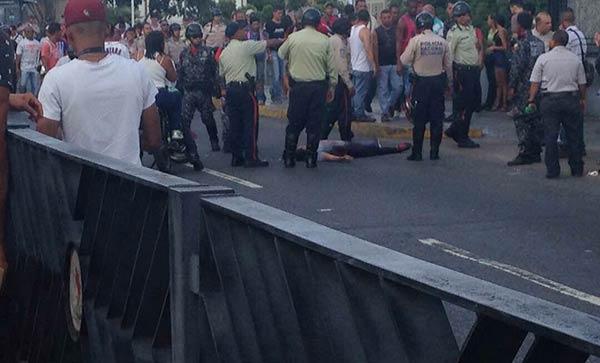 Hasta el momento se contabilizan dos muertos #16Jul| Foto: Twitter